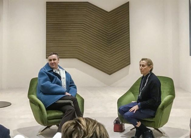 Dit was de eerste modeshow van Raf Simons bij Prada