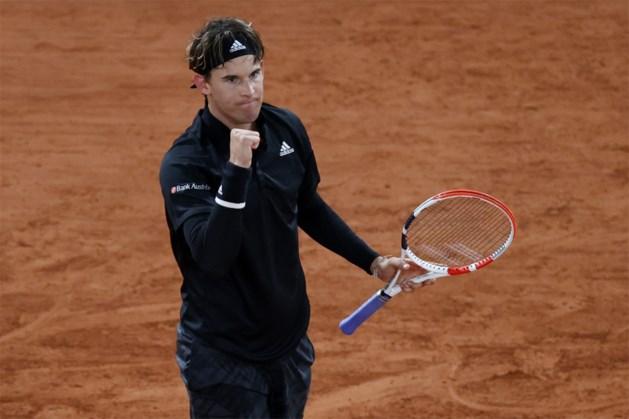 ROLAND GARROS. US Open-winnaar Dominic Thiem, titelverdediger Rafael Nadal en Nederlandse Kiki Bertens naar tweede ronde