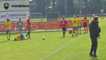Mooie doelpunten en stevige duels: dit was het weekend op de Limburgse voetbalvelden