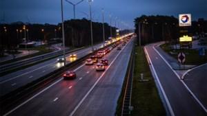 Filedruk op Vlaamse snelwegen helft lager dan vorig jaar