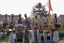 Scouts Rumanzeis start coronaproof onder een stralende hemel