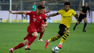 Duitse Supercup Bayern München-Dortmund achter gesloten deuren