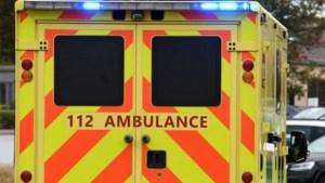 34-jarige gewond na botsing tussen voetganger en fietser op Grote Baan