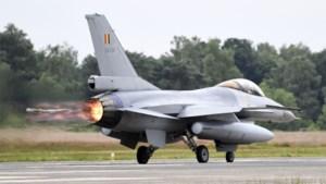 Belgische F-16's zetten koers naar Midden-Oosten voor operatie van jaar