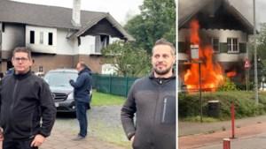 """Genkse vrouw uit brandend huis gered: """"Gelukkig reageerden die mannen zo snel"""""""
