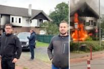 """Gemeentearbeiders redden slapende moeder en dochter uit brandend huis: """"Blij dat mannen zo alert reageerden"""""""