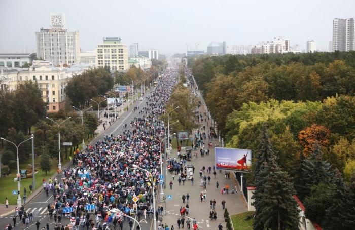 Wit-Russische autoriteiten schorten werking van invloedrijke nieuwssite op