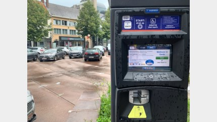Automaten defect in Genk: vandaag parkeer je er gratis
