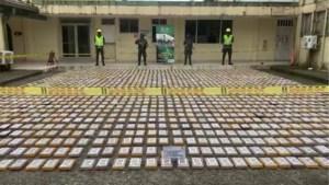 1600 kilogram cocaïne onderschept in Columbia die voor België bestemd was