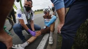 Oliver Naesen kent verdict na zware val in eerste rit BinckBank Tour, schade valt al bij al mee