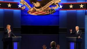 Hoe het debat tussen Trump en Biden verzandde in een chaotische scheldpartij