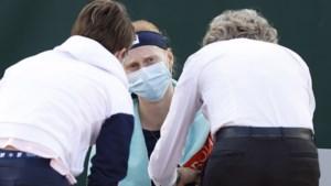 Zieke Alison Van Uytvanck moet opgeven op Roland Garros