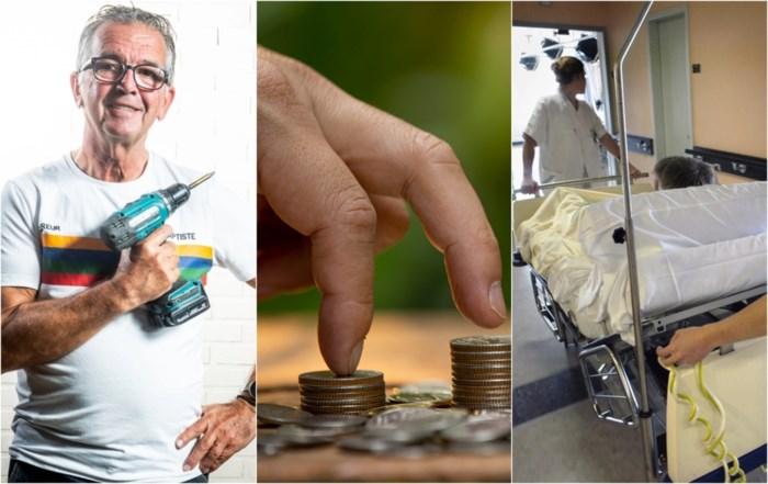 """Ook Christine en Albert moeten overleven op pensioen van rond 1.000 euro per maand: """"Geld vliegt er door"""""""