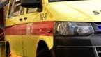 Vrachtwagen sleurt auto mee op E313 in Hasselt