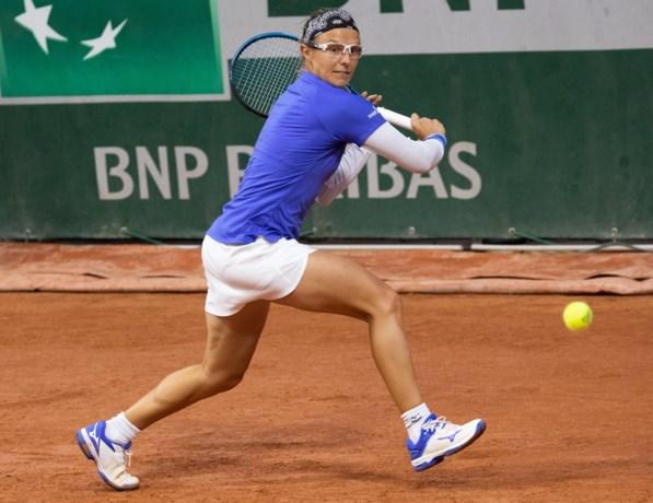 Kirsten Flipkens naar tweede ronde in dubbelspel op Roland Garros