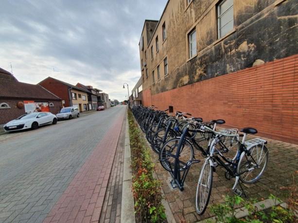 Veilige fietshaven in brouwerijomgeving