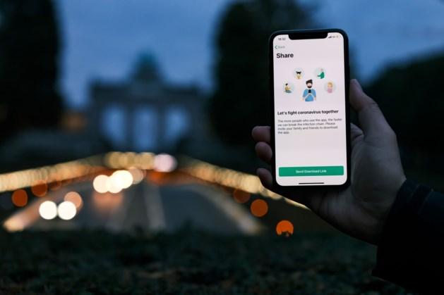 Belgische corona-app al meer dan 403.000 keer gedownload