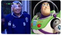 Is het Maradona of Buzz Lightyear? Argentijnse legende volgt coronamaatregelen wel heel nauw op