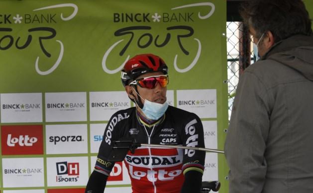 Philippe Gilbert stapt uit BinckBank Tour en moet passen voor Ronde en Roubaix