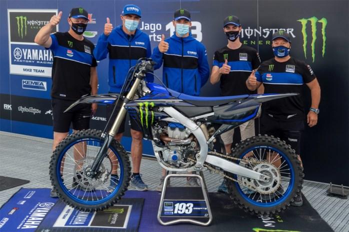 Jago Geerts verlengt zijn contract bij Yamaha tot 2022