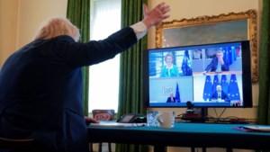 Von der Leyen en Johnson trekken Brexit-gesprekken naar zich toe