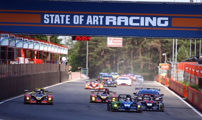 LIVE.  Five races of Nascar and Belcar at Circuit Zolder