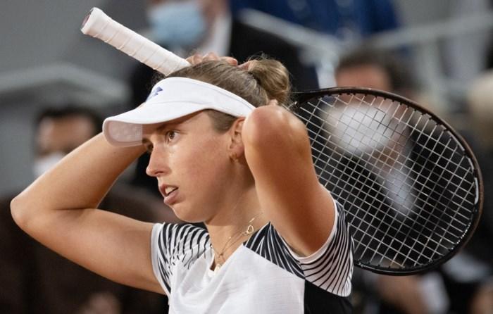 Elise Mertens sneuvelt in tweede ronde dubbelspel Roland-Garros