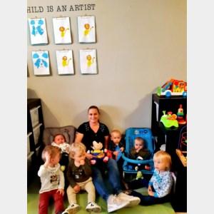 Onthaalouder Lisa Robijns wint fotowedstrijd  van Ferm Kinderopvang