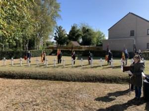 Leopoldsburg herdenkt doodgeschoten gevangenen aan Treurgracht