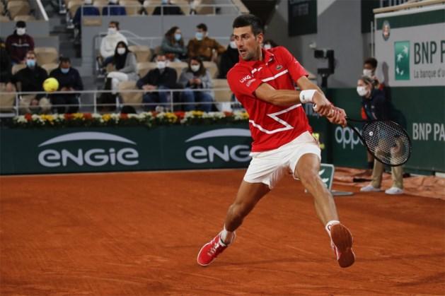 Novak Djokovic weer stapje dichter bij tweede eindzege in Roland Garros