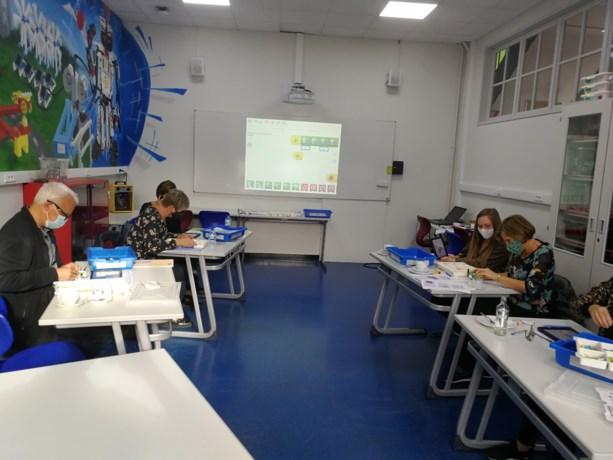Leerkrachten basisscholen testen LEGO WeDO op Provil