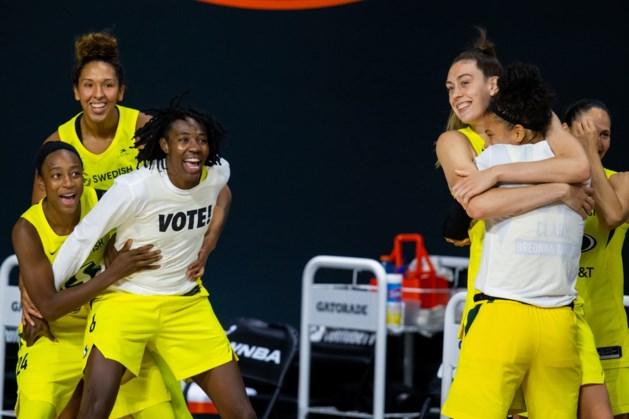 Seattle is na sweep voor vierde keer WNBA-kampioen
