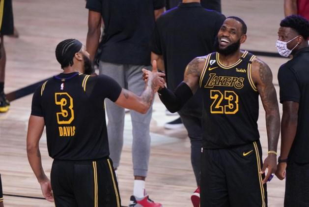 LA Lakers willen titel veroveren in speciaal shirt ter ere van Kobe Bryant