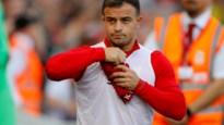 Liverpool-aanvaller Xherdan Shaqiri test positief bij Zwitserse nationale ploeg