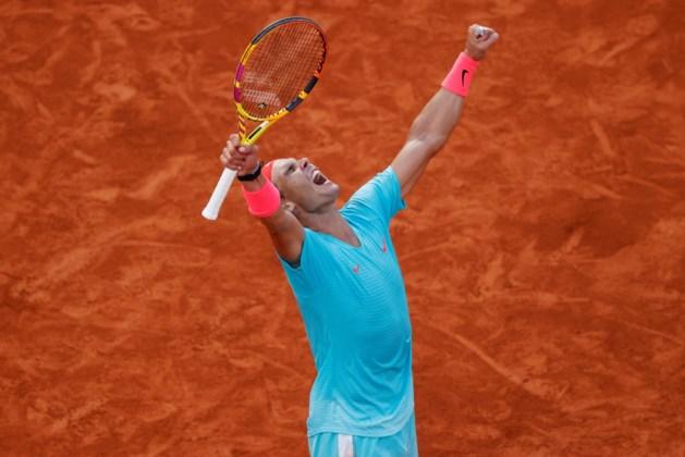 Dertiende finale voor Rafael Nadal op Roland Garros: Spanjaard geeft ook tegen Diego Schwartzman geen set uit handen