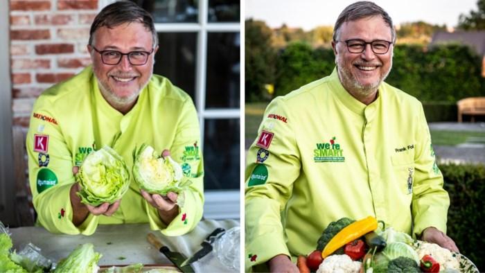 Groentechef Frank Fol proeft of smaak een reden is om voor biogroenten te kiezen