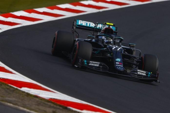 Valtteri Bottas wint spannende strijd om polepositie GP van de Eifel