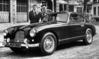 Aston Martin te koop waarmee koning Boudewijn naar Lummens bietenveld karde