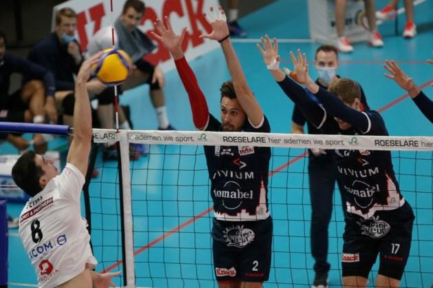 Roeselare en Menen boeken hun tweede overwinning in EuroMillions Volley League