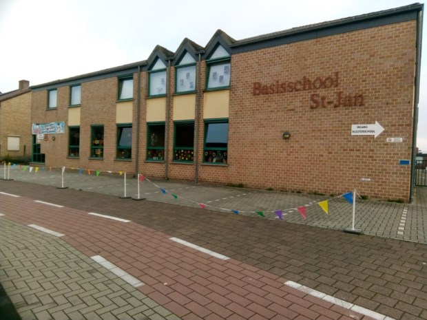 Basisschool Sint-Jan op Bloemenlaan week lang gesloten na corona bij leerkrachten