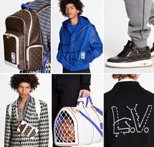 Louis Vuitton geeft eerste beelden vrij van collectie met NBA