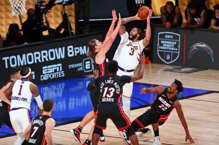 Los Angeles Lakers wint NBA-titel