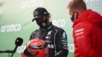 Hamilton evenaart Schumacher