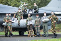 Militairen van vliegbasis in Kleine-Brogel poseren in kalender