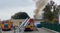 Uitslaande brand bij drankenhal in Kortessem