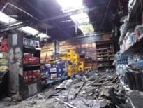 Uitslaande brand verwoest drankenhal