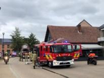 Rookschade na zolderbrand in café De Bierstal in Heusden-Zolder