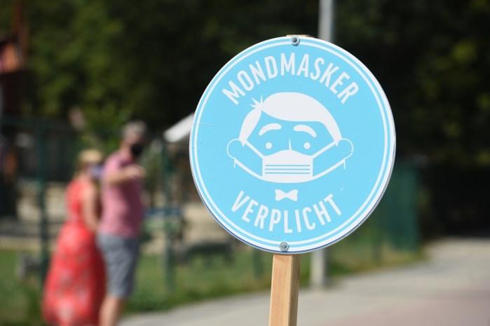 Negentien mensen zonder mondmasker beboet in Diepenbeek en Hasselt