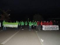 Vakbonden voeren actie voor start van gemeenteraad Nieuwerkerken