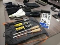 Roemenen met inbrekersmateriaal en stoorzender op werf ziekenhuis Bilzen